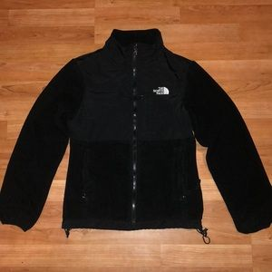 Black women's North Face jacket